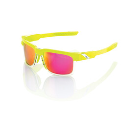 100% Type-S - Lunettes cyclisme - jaune/rose